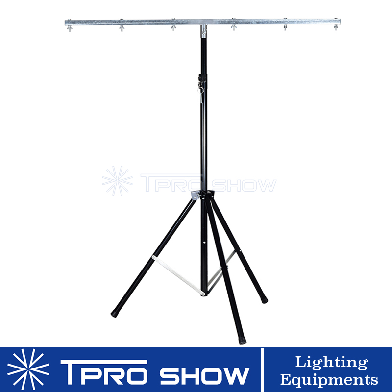 Lighting Stand Dj 3 Meter Tripod Stage Stand for Light Equipment with 1.5M T bar mounting 6pcs Professional LED Lights