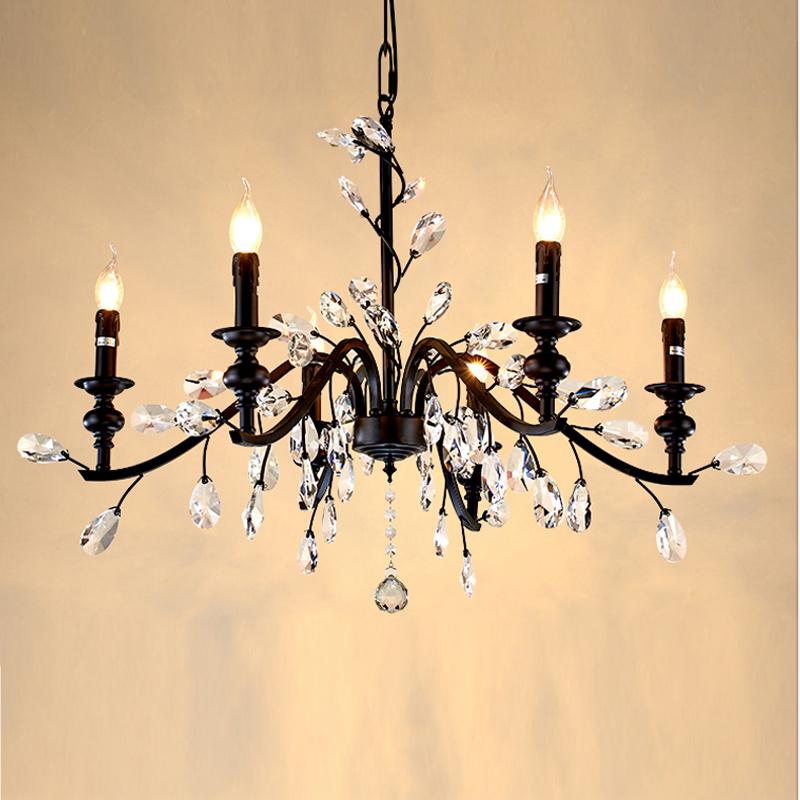 hierro forjado araa de cristal de luz hecha a mano dormitorio casa rstica de hierro forjado