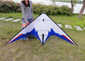 Envío de la alta calidad 2.4 m jazz dual line truco cometas con mango línea cometa kite deporte weifang kite parafoil hcxkites