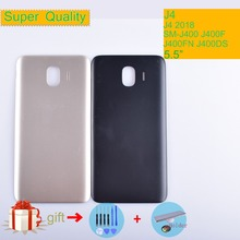 J4 For Samsung Galaxy J4 2018 SM-J400F J400F J400FN J400DS J400G Housing Battery Cover Back Cover Case Rear Door Replacement смартфон samsung galaxy j4 sm j400f gold