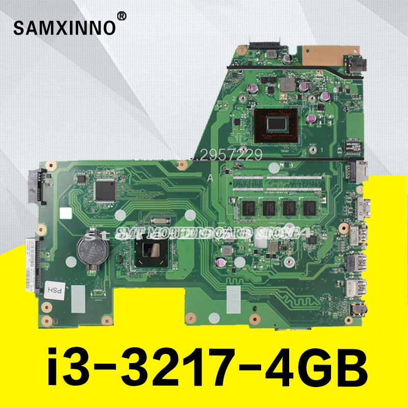 X551CA Motherboard i3-3217-4GB For ASUS D550C F551C F551CA laptop Motherboard X551CA Mainboard X551CA Motherboard test 100% OK sheli original x551ca motherboard for asus x551ca f551c f551ca laptop motherboard tested mainboard i3 cpu notebook