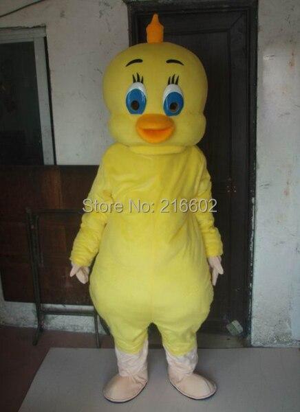 cosplay costumes Yellow chicken mascot costume adult size chicken mascot costume free shipping