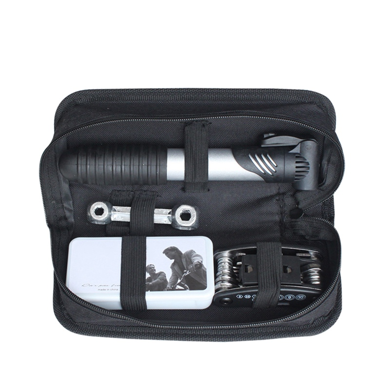 Bicycle Accessories Combination Repair Kit Set Mountain Bike Riding Multi-function Repair Tire Inflator Cycling Toolkit