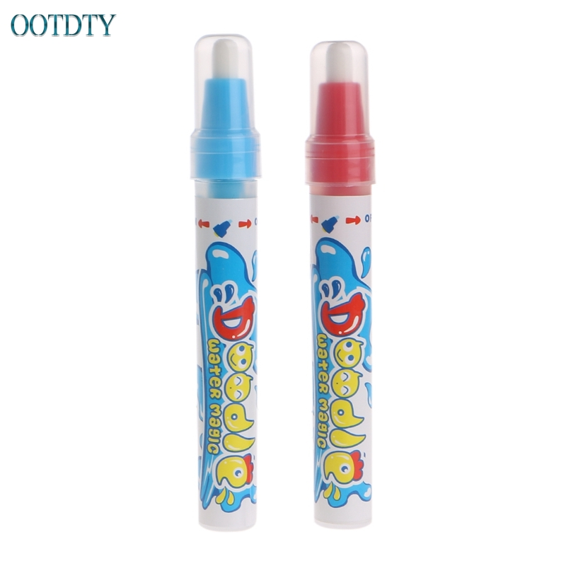 New 2 PCS Water Drawing Mat Painting Pen Magic Pen Childs Learning Drawing Toy #330