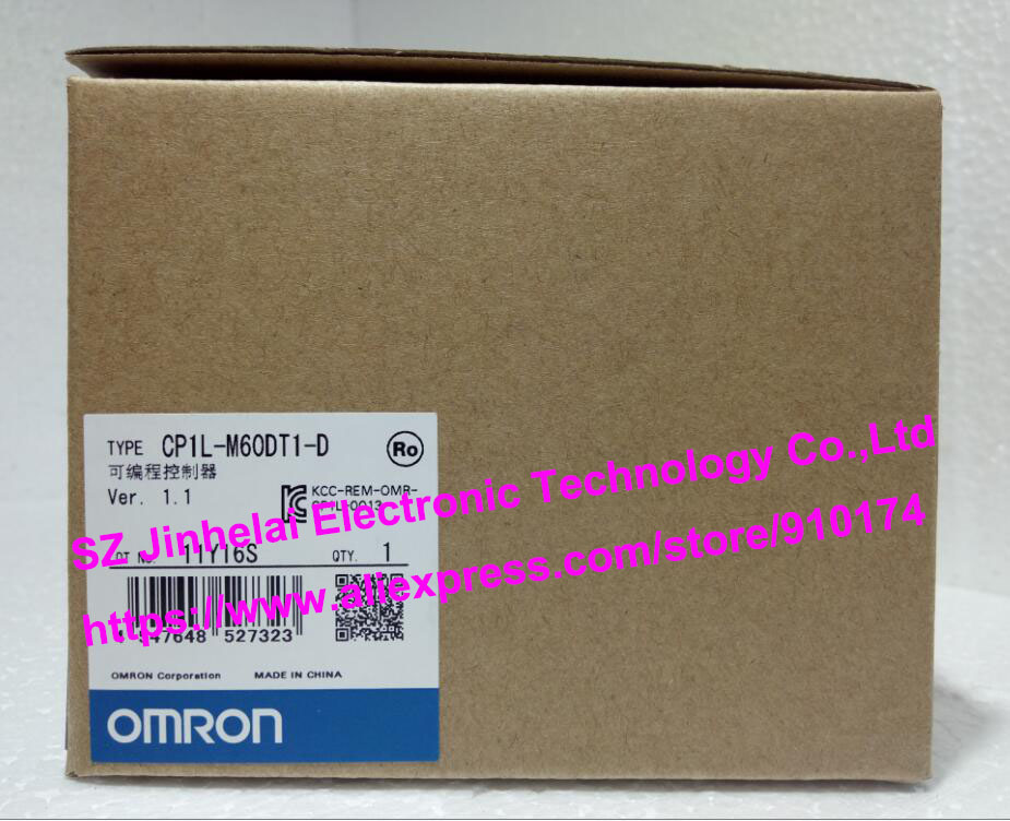 100% New and original CP1L-M60DT1-D OMRON PLC CONTROLLER [zob] 100% brand new original authentic omron omron photoelectric switch e2s q23 1m 2pcs lot