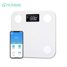 Original Smart Yunmai Premium Mini Body Weight Scales Floor Digital Weighing fat Scale Bluetooth mi Body Composition Scale m1501 все цены