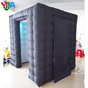 Image 2 - Hoge kwaliteit custom wedding party opblaasbare photobooth led photo booth tent