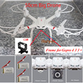 Professional Drones MJX X101 2.4GHz 4CH 6-Axis Gyro Quadcopter RC Helicopter can Add C4018/C4016 FPV Camera vs X6 X600