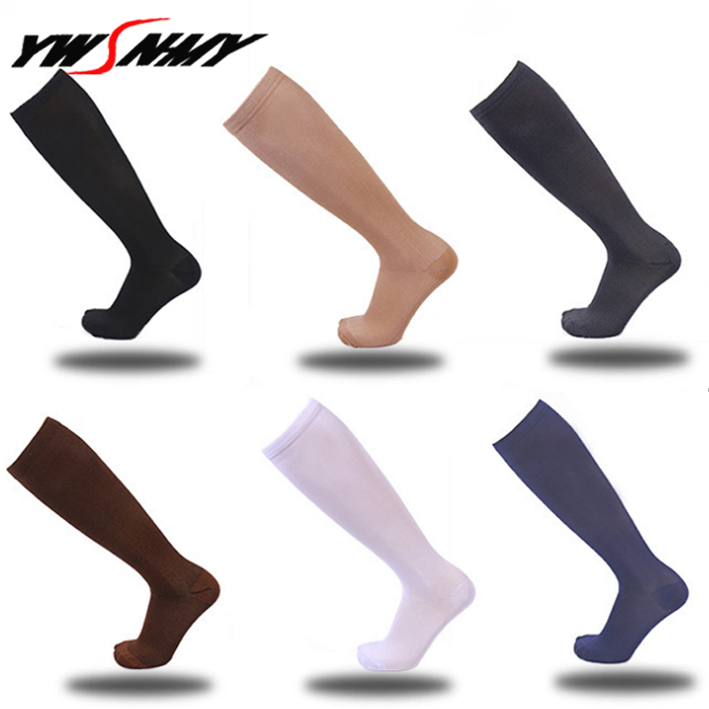 6Pcs/lot Compression   Socks   for Men Women for Nurses Medical Graduated Nursing Travel Pressure Circulation Anti-Fatigue Stockings