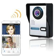 Водонепроницаемый Wireless WIFI Видео Домофон Крытый Монитор Ясно Ночного Видения многоязычная Поддержка Беспроводной Wi-Fi Дверной Звонок