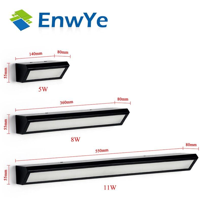 LED Настенные светильники 5 Вт 8 Вт 11 Вт AC85-265V современный простой Спальня огни в помещении столовая коридор Освещение Алюминий материал bd62 ...