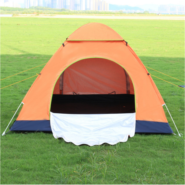3-4 person Automatic Tent Ultra-light Waterproof Anti-ultraviolet Anti-mosquito Ventilation Camping Picnic Field Survival Tent