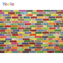 Yeele Colored Brick Wall Birthday Party Personalized Photocol Photographic Backdrops Photography Backgrounds For Photo Studio