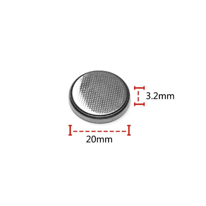 5pcs/Lot 1card CR2032 3V button Cell Coin Button Battery lithium Li-ion DL2032 ECR2032 batteria Watches clocks toy calculators