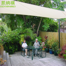 4 x 7 M/pcs Customized Rectangle Shade Sail Combination 95% UV protection HDPE Net with free ropes for Residential Courtyard