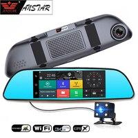 ANSTAR CAR DVR 3G Car Camera Android 5 0 CAR Rearview Mirror Camera Bluetooth Dual Lens