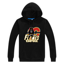 2017 Flames Empire  Star Wars Darth Vader Men Sweashirt Women warm Calgary hoodies 0105-7