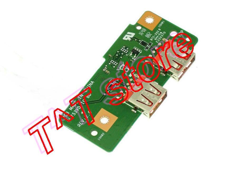 original FOR GL753V GL753VD GL753VE USB IO BOARD test good free shipping gl753ve gc067