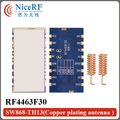 2pcs/lot RF4463F30 868mhz 1W Si4463 Chip High Sensitivity -126 dBm  Embedded FSK Wireless Module