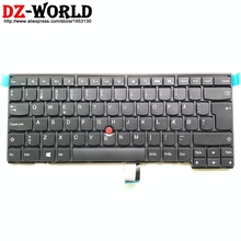 New Original Danish Keyboard for Lenovo Thinkpad T431S L440 L450 L460 T440 T440S T431S T440P T450 T450S T460 Laptop 04Y0871