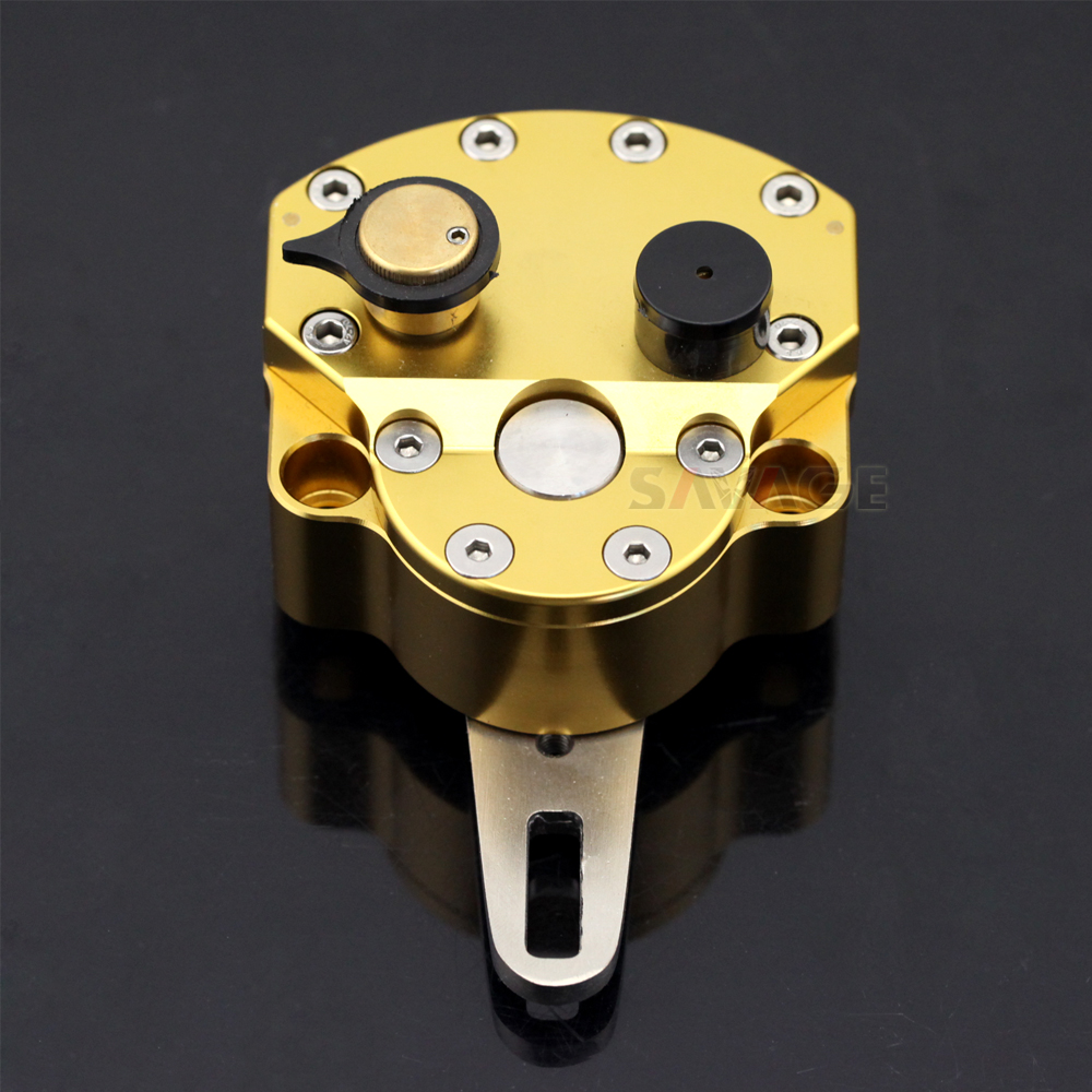 STEERING DAMPER STABILIZER Motorcycle Accessories Universal Reversed Safety Adjustable