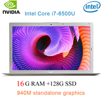 "ram 128g P10-09 16G RAM 128g SSD אינטל i7-6500u 15.6"" Gaming 2.5GHz-3.1GHZ NVIDIA GeForce 940M 2G מחשב נייד עם מקלדת מוארת (1)"