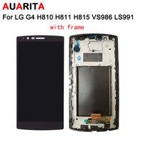 5 개/몫 LCD LG G4 H810 H811 H815 VS986 LS991 lcd 화면 터치 패널 디지
