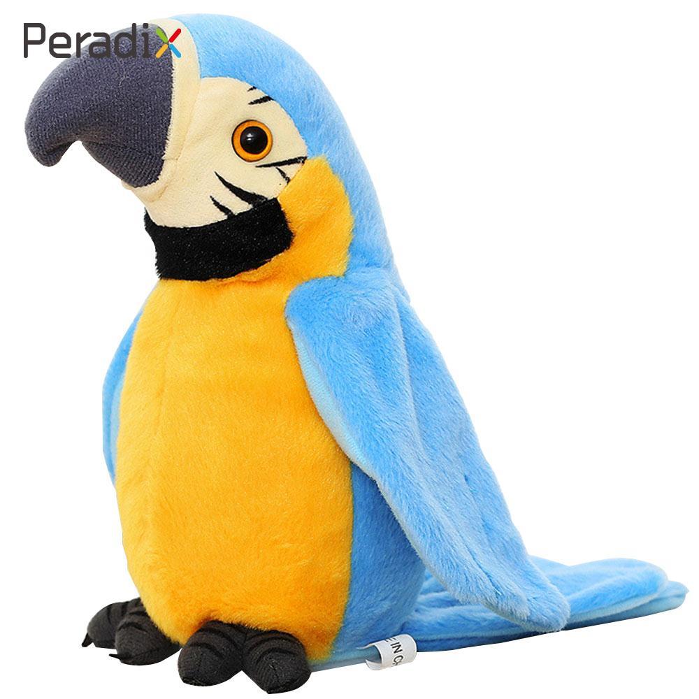 2018 Funny Repeats Parrot Smart Record Parrot Electric Talking Adorable Repeats Talking Parrot Drop Shipping