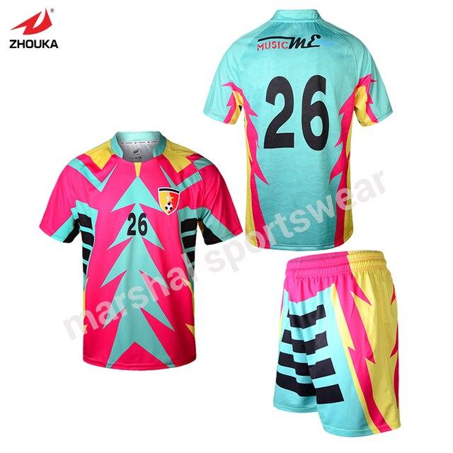 1a691727ebe All football shirts china manufacturer wholesale custom men t shirt design  own football shirt maker soccer jersey Free sjipping