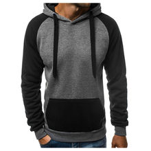 abb469af 2018 New Spring Autumn Hoodies Men Fashion Brand Pullover Solid Color  Turtleneck Sportswear Sweatshirt Men'S Tracksuits