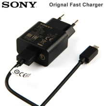 SONY Original Fast Charging Travel Charger For Xperia X2 H8216 LT28i E5 Z6  Z3 Z1 L39t T2 Ultra Wall Adapter