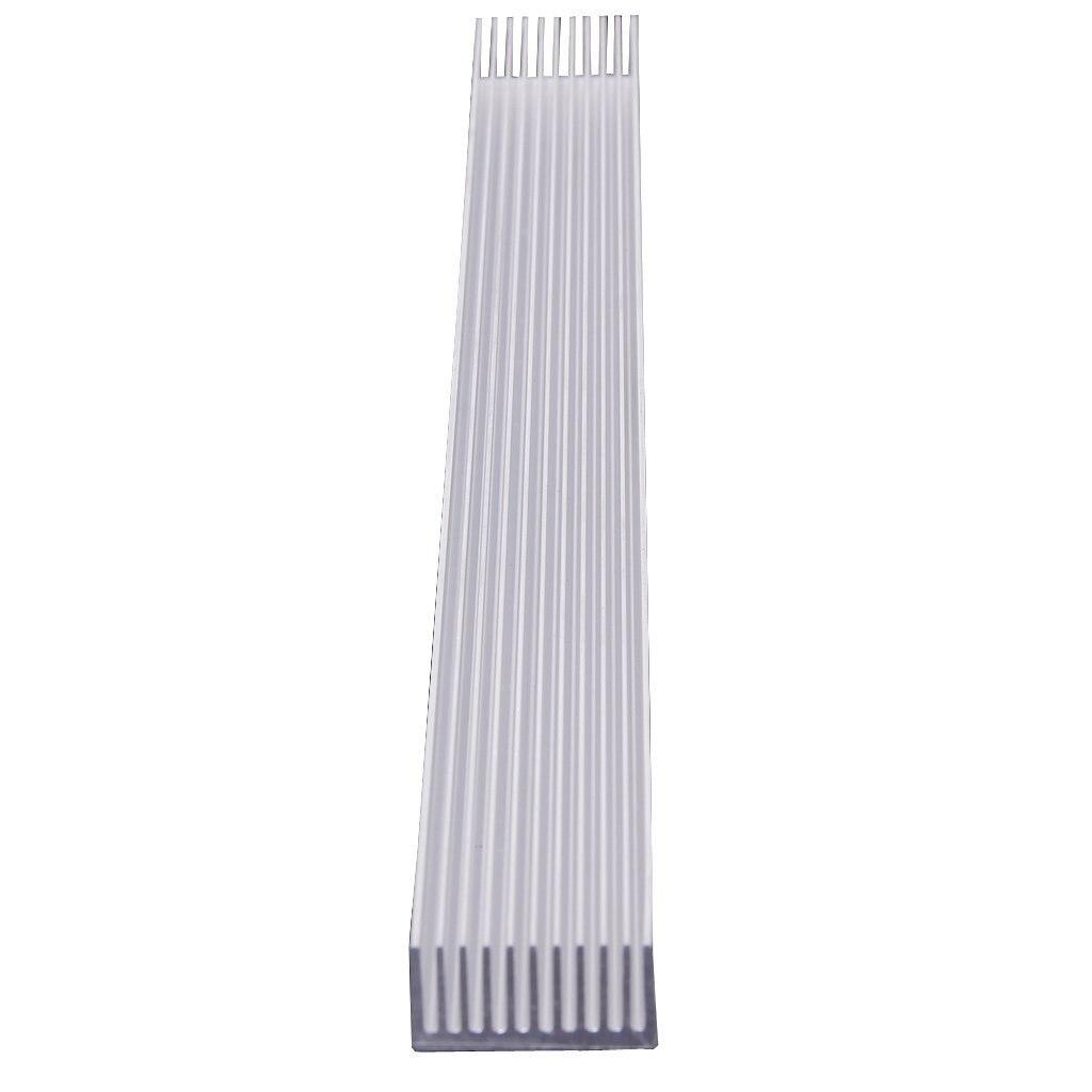 Aluminum Heatsink Cooling For 4 X 3 W/ 12 X 1W LED