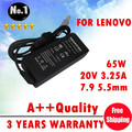 New  laptop AC Charger power adapter for lenovo T60 T61 T60p Z60 T400s T400 T500 X200  X200s 20 V 3.25A  65W WHOELSALE