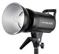 Godox SK400 профессиональный студийный стробоскоп sk Series мощность 220 В 5600 К Max 400WS GN58 студийная лампа импульсного и постоянного света