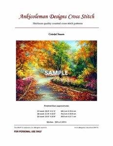 Image 2 - Colección Casual Girl Kits de punto de cruz contados Costura artesanal para bordado 14 ct conjuntos de punto de cruz Color DMC