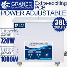 Ультразвуковой очиститель 38l 720 Вт 28 кГц