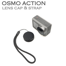 for DJI Osmo Action Gimbal Camera Lens Case Protection Cover With Lanyard Sport Accessories