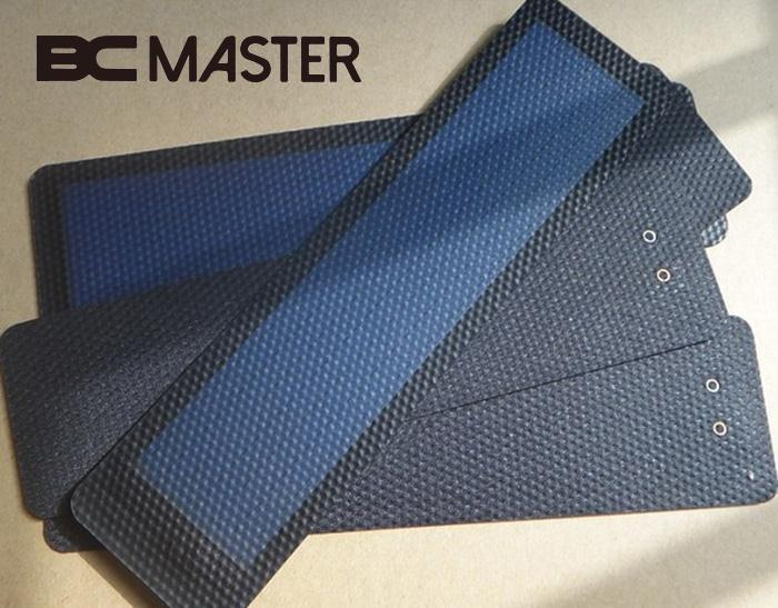 BCMaster Smart Thin-Film Flexible Solar Panel Battery Charger with USB Cable 2V 0.5 Waterproof for Power Bank Supply Mini Cell
