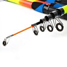 FISH KING Fiber Glass Reinforced Plastics 2.1m 2.4m 2.7m 3m Fishing Lure Rod Pole PortableTelescopic Carp Fishing Rod Tackle