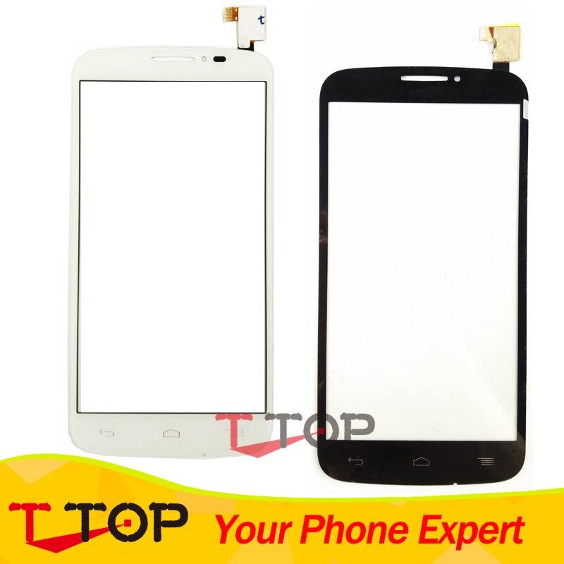 5.0 écran tactile Pour Alcatel One Touch Pop C7 7040 7041 7040D 7040E 7040A OT7040 Écran Tactile Digitizer Panneau Lentille En Verre 1 PC/Lot