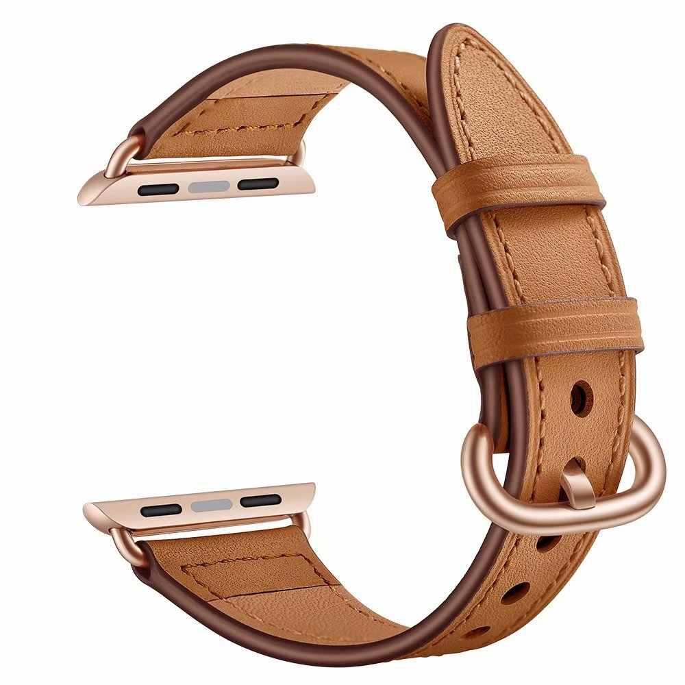 高 Guality 革時計バンド時計バンドシリーズ 1 2 3 ソフトスポーツブレスレット 42 ミリメートル 38 ミリメートル 44 ミリメートル 40 ミリメートル iwatch 用 4
