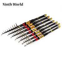 Telescopic Fishing Rod 1.8M/2.1M/2.4M/2.7M/3.0M/3.3M Super Hard Sea Rod Throwing Rod Bolt Fishing Gear
