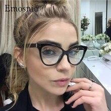 Emosnia New Korean Sunglasses Cat Eye Glasses Frames Women Vintage Optical