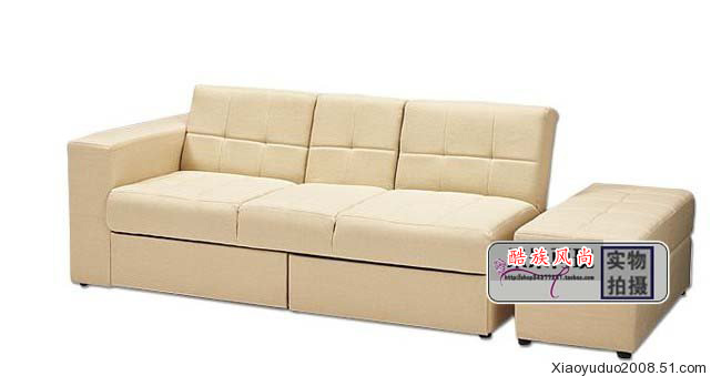 European Modern Fabric Sofa Small Apartment With A Bed Storage Drawers Anese Folding In Hotel Sofas From Furniture On Aliexpress