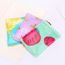 Women's Cute Leather Coin Purse with Food Themed Pattern