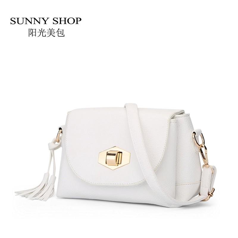 f0f216d3d438 SUNNY SHOP Small Tassel Women Messenger Bags Cute Girls Crossbody ...