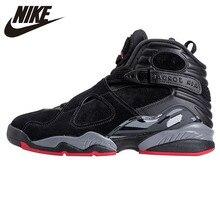 buy popular dd675 4a403 NIKE Air Jordan 8 Cemento Nero Scarpe Da Basket degli uomini Scarpe Da  Ginnastica, Originale