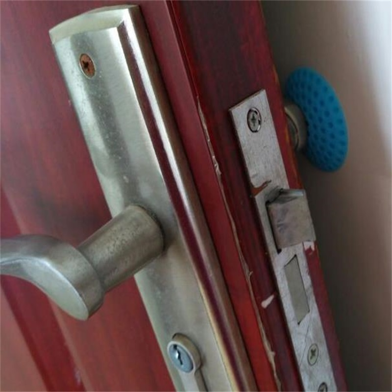 1pcs Door handles collision avoidance  Furniture impact protection circular Plastic wall stickers The handle  Furniture fittings 3pcs child safety guard protection door handle spiral anti collision security door handle protective sleeve lock essential tool