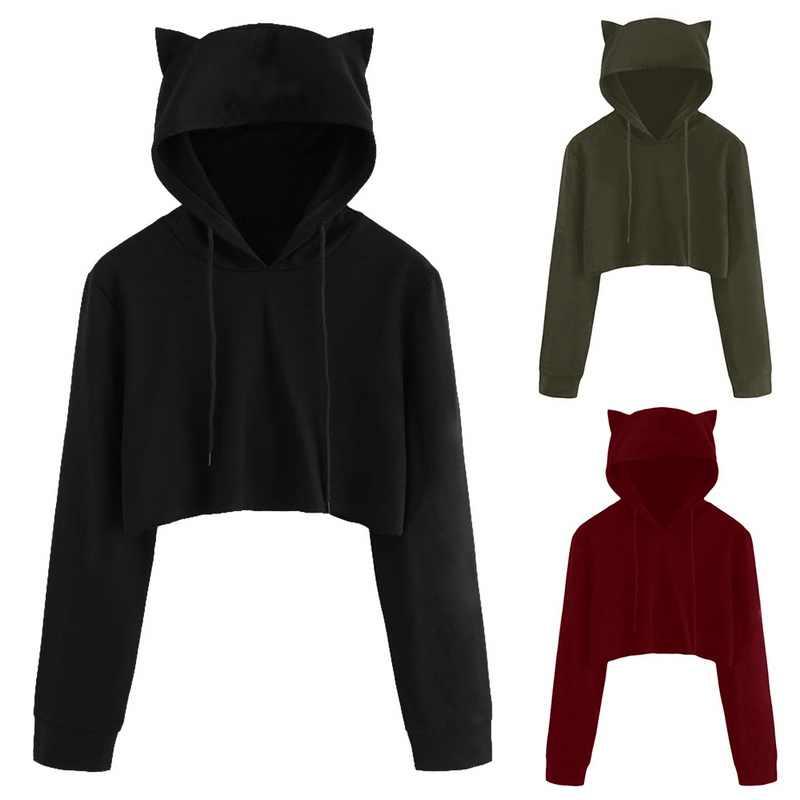 6d482026ba3 ... LASPERAL Sweatshirts Female Hoodie Pink   Gray Plus Size Hoodies Women  Long Sleeves Hoody For Women