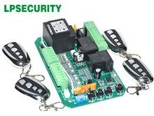 Scheda elettronica di bordo circuito di controllo del motore del cancello per cancello scorrevole apri funzione di soft start modalità pedonale 110V o 220V